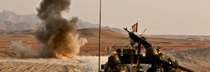 Afghan army forces convoy targeted by Taliban in Maidan Wardak
