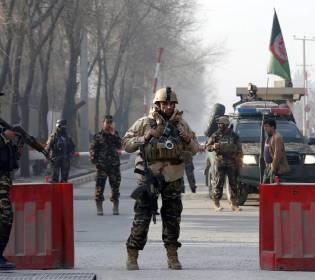 GFATF - LLL - Afghan security forces prevented terrorist attack in Kabul