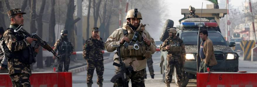 Islamic State claimed responsibility for rocket attack on Afghan presidential palace in Kabul