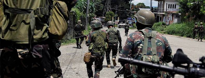 Suspected Egyptian terrorist and two local militants killed in Philippines