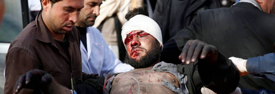At least 49 people killed and 50 are wounded due to the latest terrorist attacks in Afghanistan