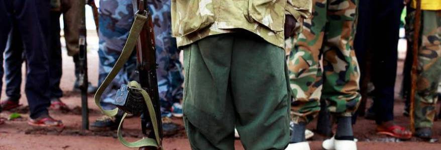 Boko Haram terrorists are recruiting children as soldiers and suicide bombers
