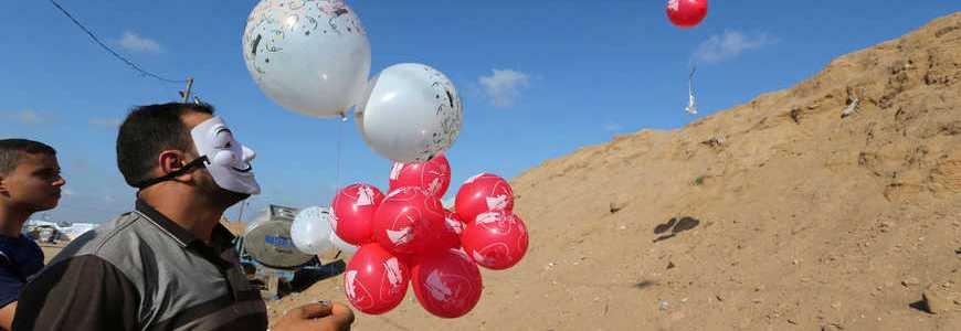 Hamas terrorists to halt explosive balloons in exchange for Israel easing blockade