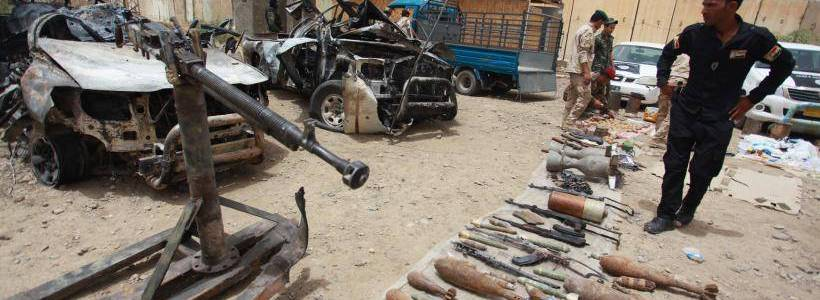 Islamic State weapons caches discovered in Iraq's Al-Anbar