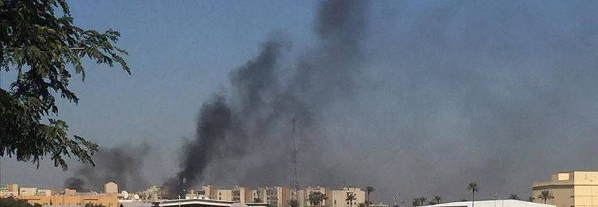 Rocket attack thwarted at the military headquarters of the US forces at the Baghdad Airport