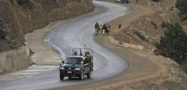 Terrorists stepped up the attacks on security forces in northwest Pakistan