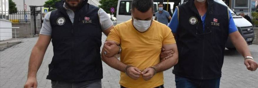 Turkish authorities arrested six Iraqi nationals for belonging to the Islamic State terrorist group