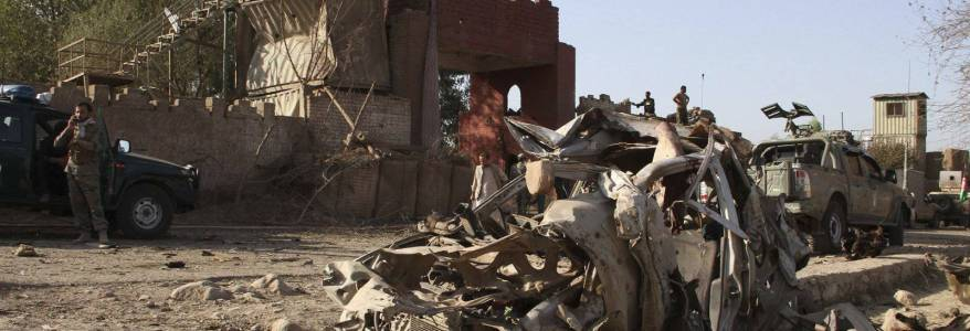 Bomb attack kills at least fifteen people in east Afghanistan