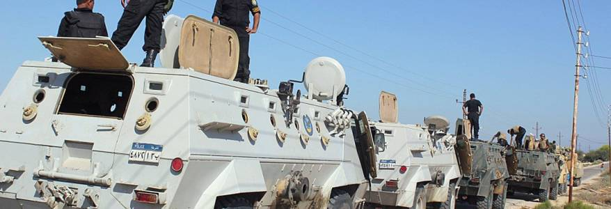 Egyptian police forces killed two terrorists in North Sinai