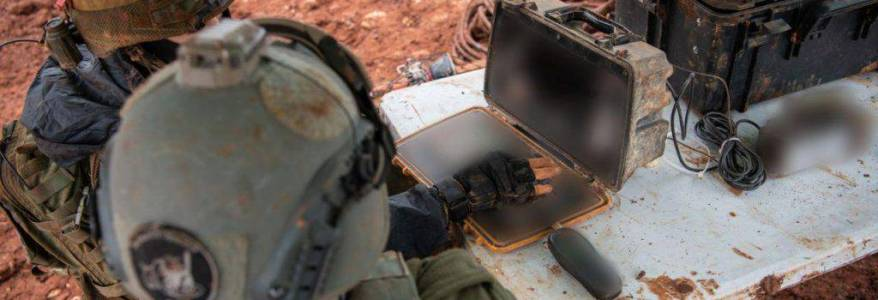 Israeli army forces uncovered terror tunnel that crossed from the Gaza Strip into Israeli territory
