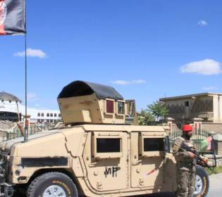 GFATF - LLL - Suicide bombing attack killed three people near base in eastern Afghanistan