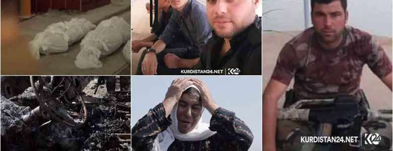 Suspected Islamic State gunmen killed three Kurds and burn their bodies in Kirkuk