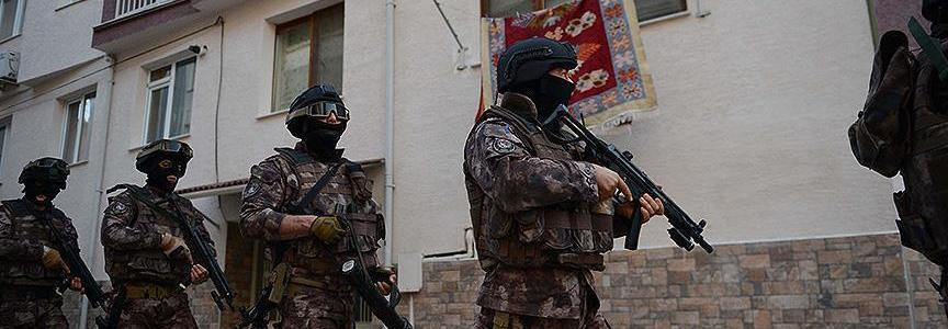 Turkish police authorities detained eighteen Islamic State terror suspects in Ankara