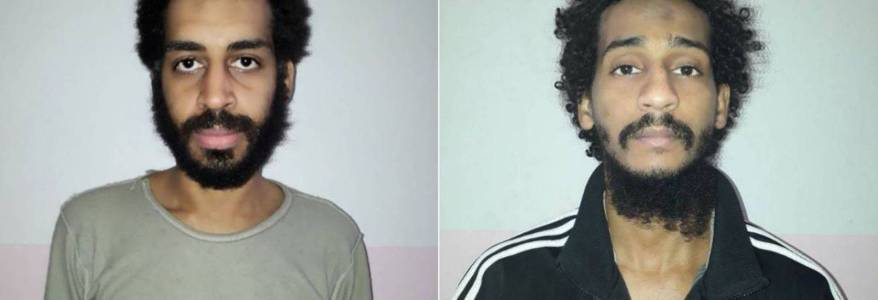 Two Britons accused of being brutal Islamic State Beatles plead not guilty in US court