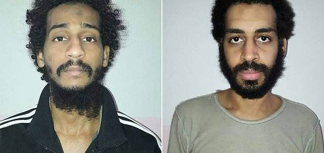 The Islamic State Beatles were arrested at London protests supporting the 9/11 terror attacks in 2011