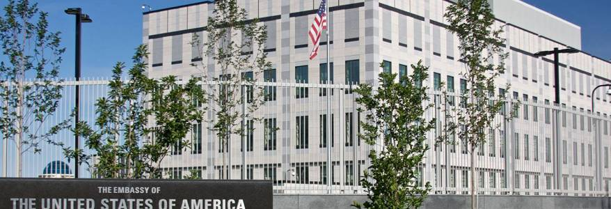 Ukrainian police authorities launched an investigation into a deadly attack by assailant on US embassy employee