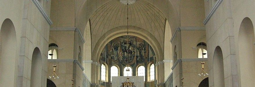 Group of 30 to 50 Turkish youths kick furniture at Austrian church in Vienna