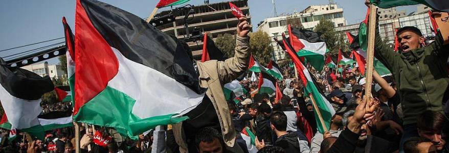 Hamas terrorist group organises gatherings to protest against the French cartoons