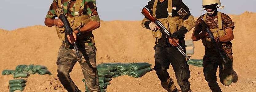 Islamic State terrorists attacked a security point in Saladin