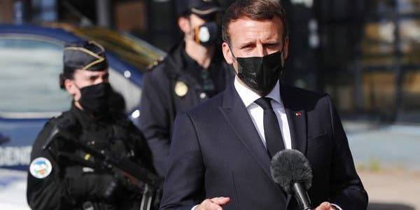 Macron urges EU border changes as he warns terrorist attacks are 'European reality'