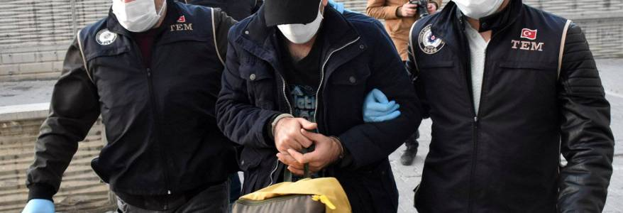 Turkish police authorities detained eight Islamic State terrorists in Samsun