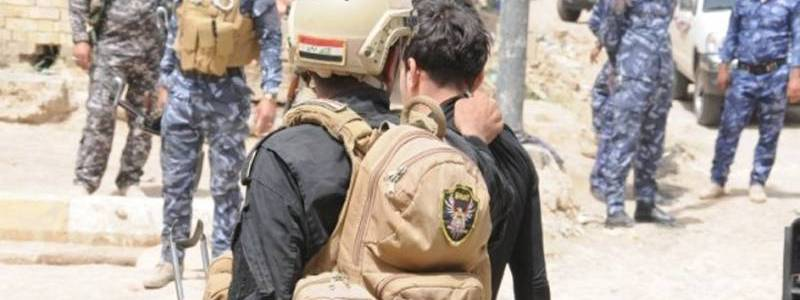 Islamic State terrorists who committed a massacre in a hospital arrested by the Iraqi forces in Baghdad