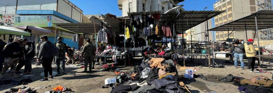 Baghdad suicide bombings highlight Islamic State group's enduring threat