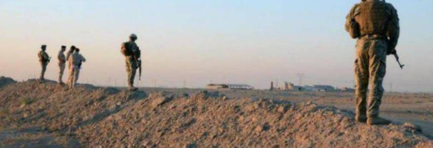 Iraqi security forces arrest an Islamic State leader and three of his assistants in Diyala
