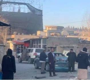 GFATF - LLL - Italian embassy behicle attacked by magnetic bomb in Kabul