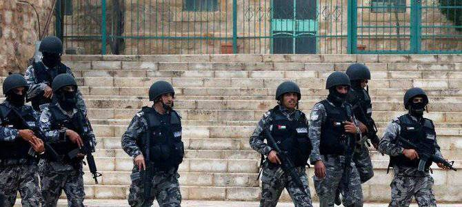 Jordanian authorities detained eighteen accused of attempting to destabilize the country
