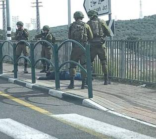 GFATF - LLL - Palestinian terrorist attempted to stab a female soldier and her commander multiple times near Ariel