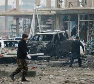 GFATF - LLL - Roadside bomb killed three people in Kabul including Afghan security spokesman
