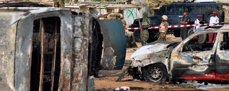 Terrorists killed thirteen soldiers in northeast Nigeria