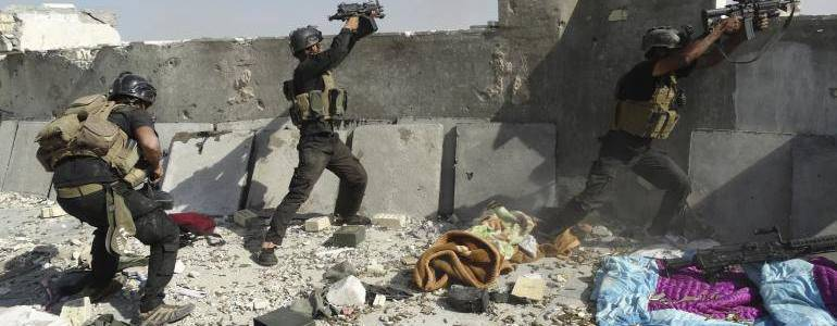 Two Islamic State militants killed and six arrested by the Iraqi forces