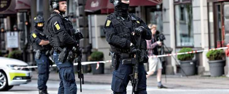 Danish police authorities charge seven people for planning terrorist attacks