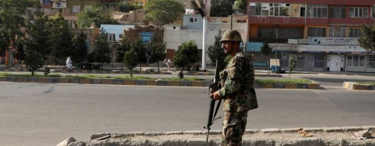 Three Afghan security personnel killed in Taliban car-bombing near Kabul