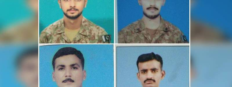 Four soldiers killed in the latest terrorist attack in South Waziristan