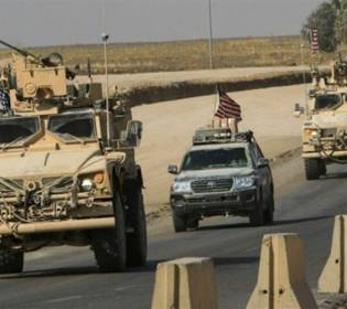 GFATF - LLL - Roadside bomb exploded near US led coalition trucks in Iraq