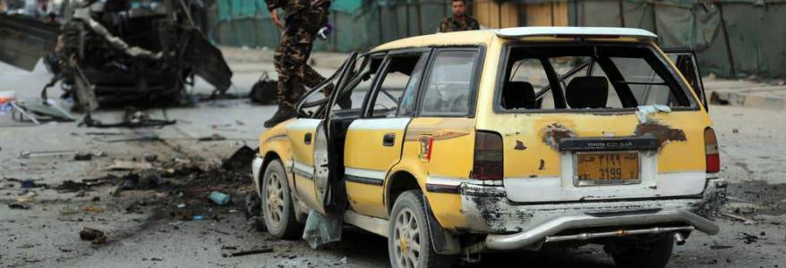 Terror attack on minibus in Afghanistan killed and injured at least sixteen people