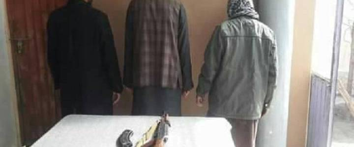 Four associates of Islamic State terrorist group arrested in Nangarhar