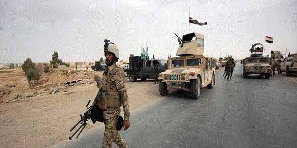 Iraqi army forces launched counter-terrorism operation against Islamic State terrorist group