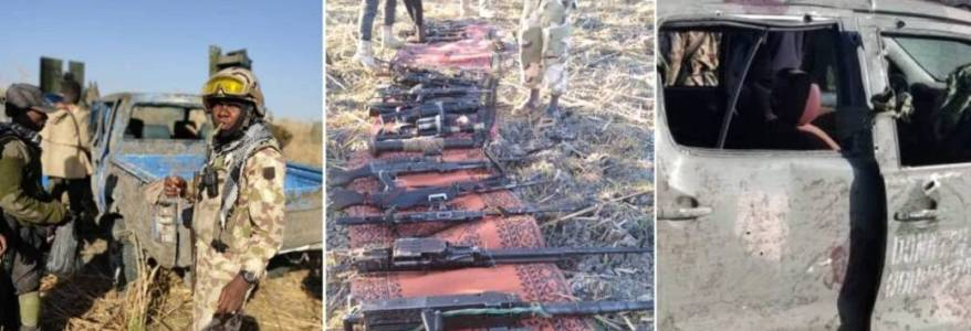 Nigerian Army forces eliminated 25 Boko Haram terrorists in Borno