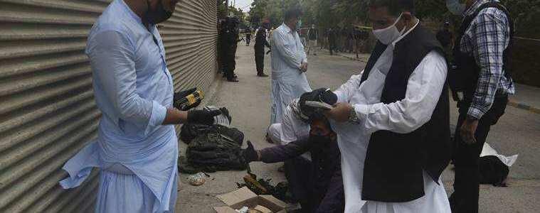 Six terrorist suspects arrested in two raids in Karachi