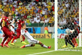http://www.abc.net.au/news/2014-06-22/germany-held-by-ghana-in-2-2-thriller/5541540