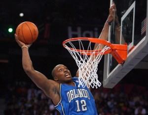 Dwight Howard Slam Dunk NBA