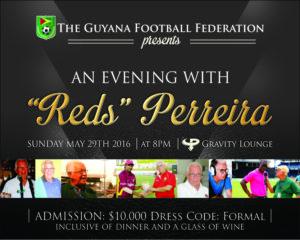 """Am Evening With """"Reds"""" Perreira"""