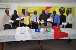NAMILCO hand over 014_cheques+equipment