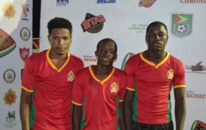 GDF FC's Goal Scorers (SEL - Game #5)