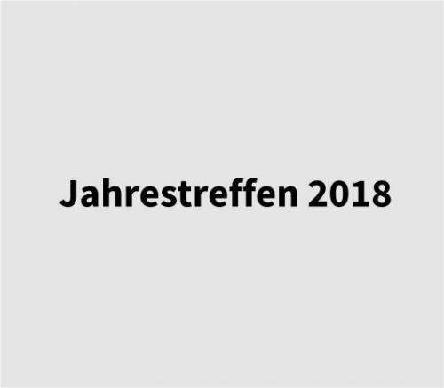 Jahrestreffen 2018