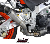 ESCAPE S1 SBK TUONO APRILIA EXHAUST